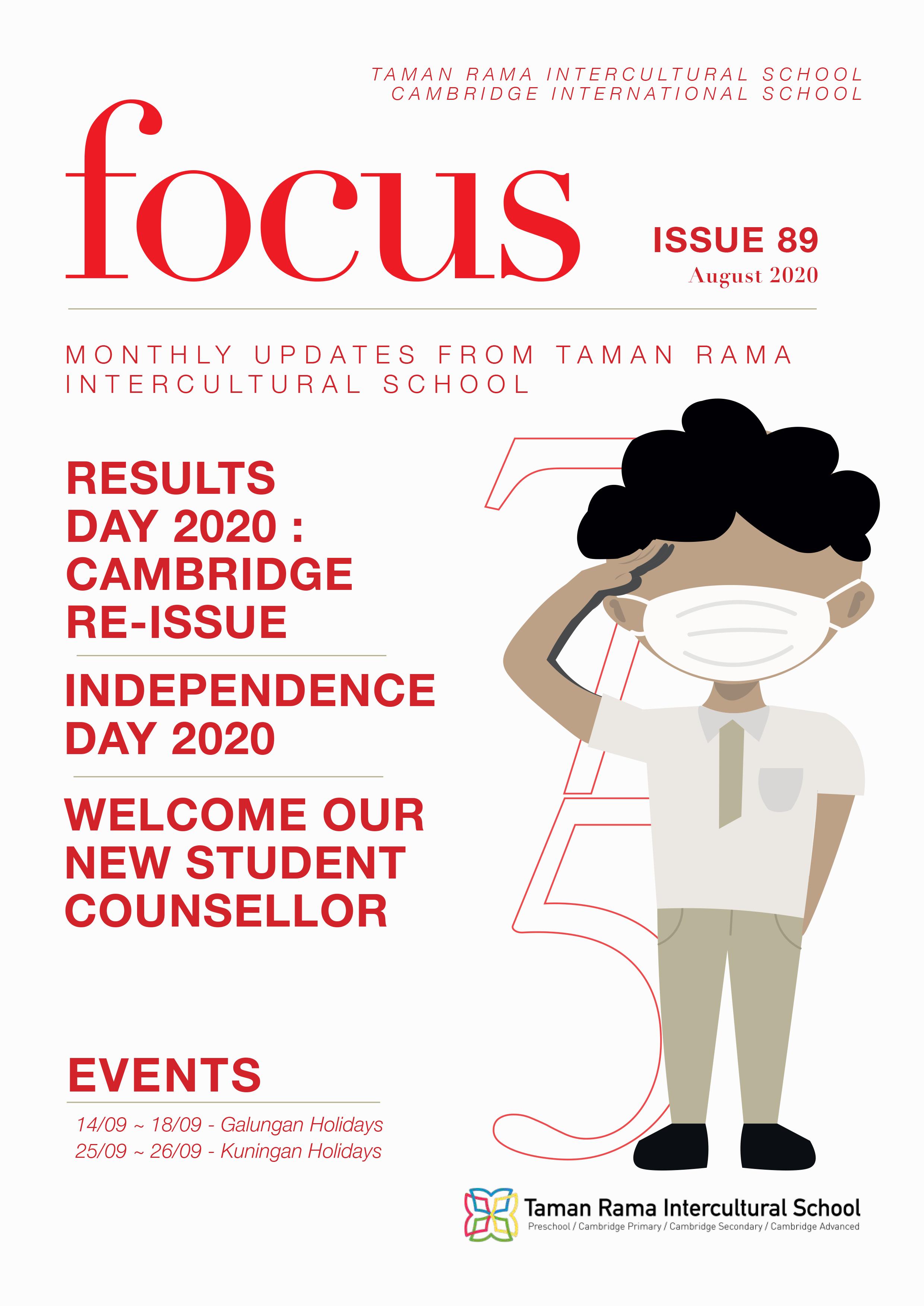 Focus Issue 89 – August 2020